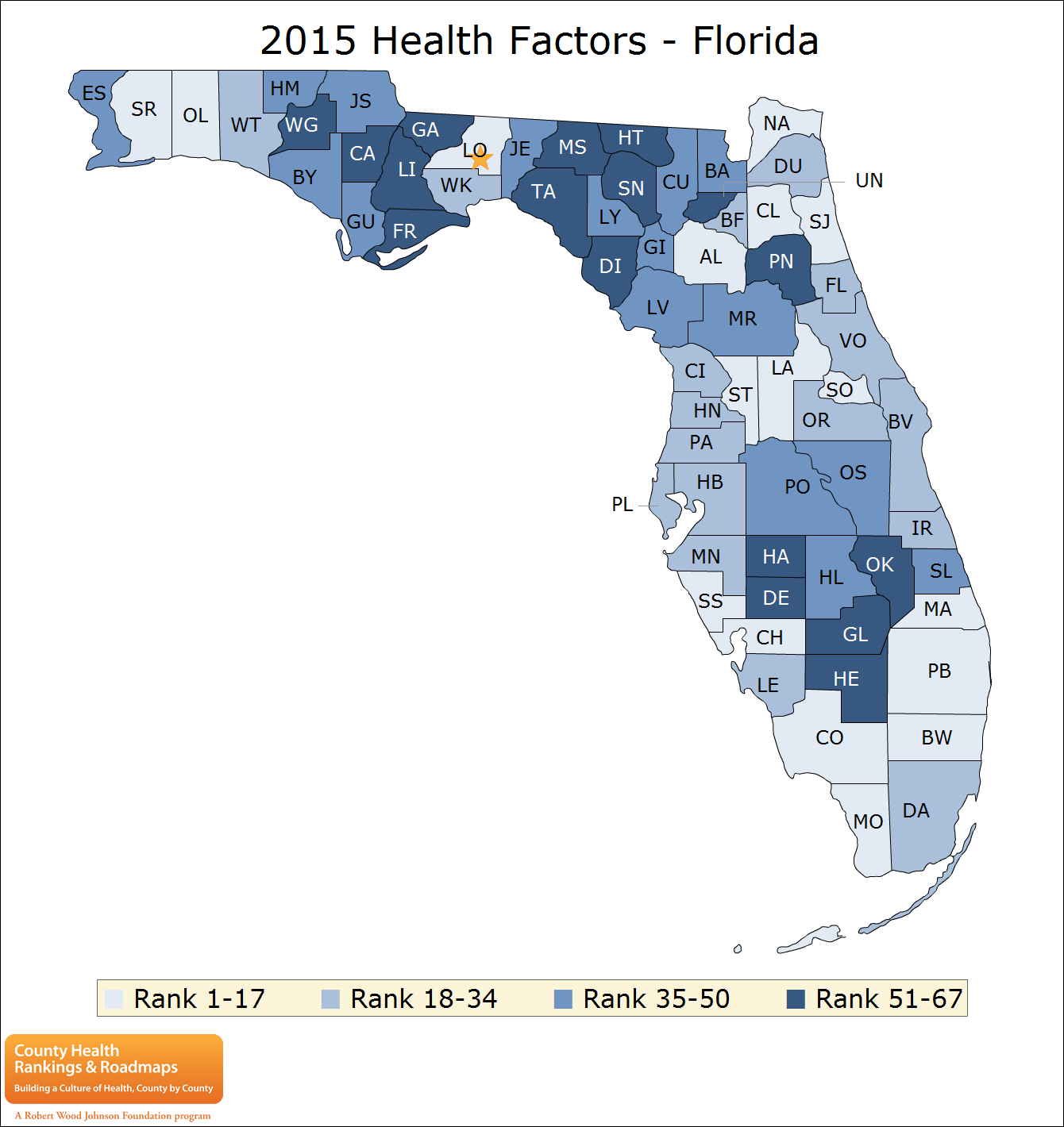 Putnam County Ranked Unhealthiest County For Health