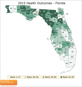 2015 Health Outcomes - Florida