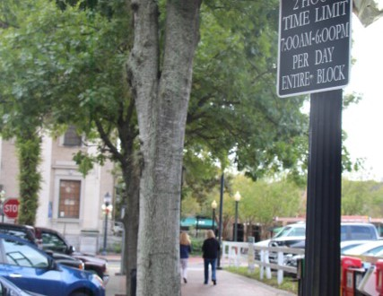 When Gainesville's Two-Hour Free Parking Isn't Really Free