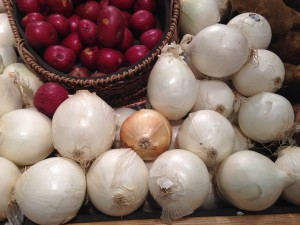 Onions, although not on the Pets Best Insurance dangerous foods list, are another food item that is not recommended for pets during Thanksgiving meals to avoid any health problems.