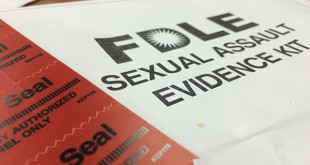 The Alachua County Sheriff's Office collects evidence such as bed sheets and underwear from sexual assault cases. An Alachua County Sheriff personally takes the evidence to the FDLE laboratory in Jacksonville. Photo by: Sarah Kimbro/WUFT News