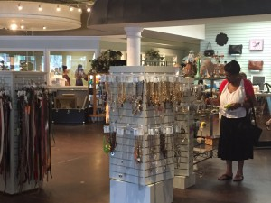 Sandra Matthews shops at Sandy's Savvy Chic Resale Boutique in Gainesville, a local business that's seeing good sales despite October's slight drop in consumer confidence in Florida.