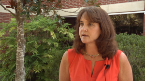 Linda Dixon, director of planning, discusses the Campus Greenway Project and the ways students, faculty and staff can benefit from its creation. She hopes that the path will encourage people to walk more and bicycle while on campus.