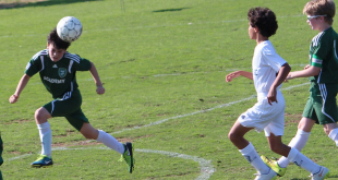 U.S. Soccer will likely limit the amount of heading in youth soccer. (MSC U13 Green/Flickr)
