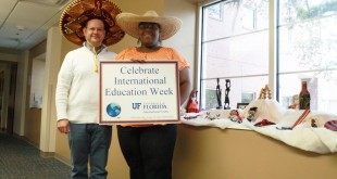 UF International Center hosts and celebrates last year's International Education Week. UF is one of many universities across the country celebrating international culture and students next week. Photo courtesy of UFIC.