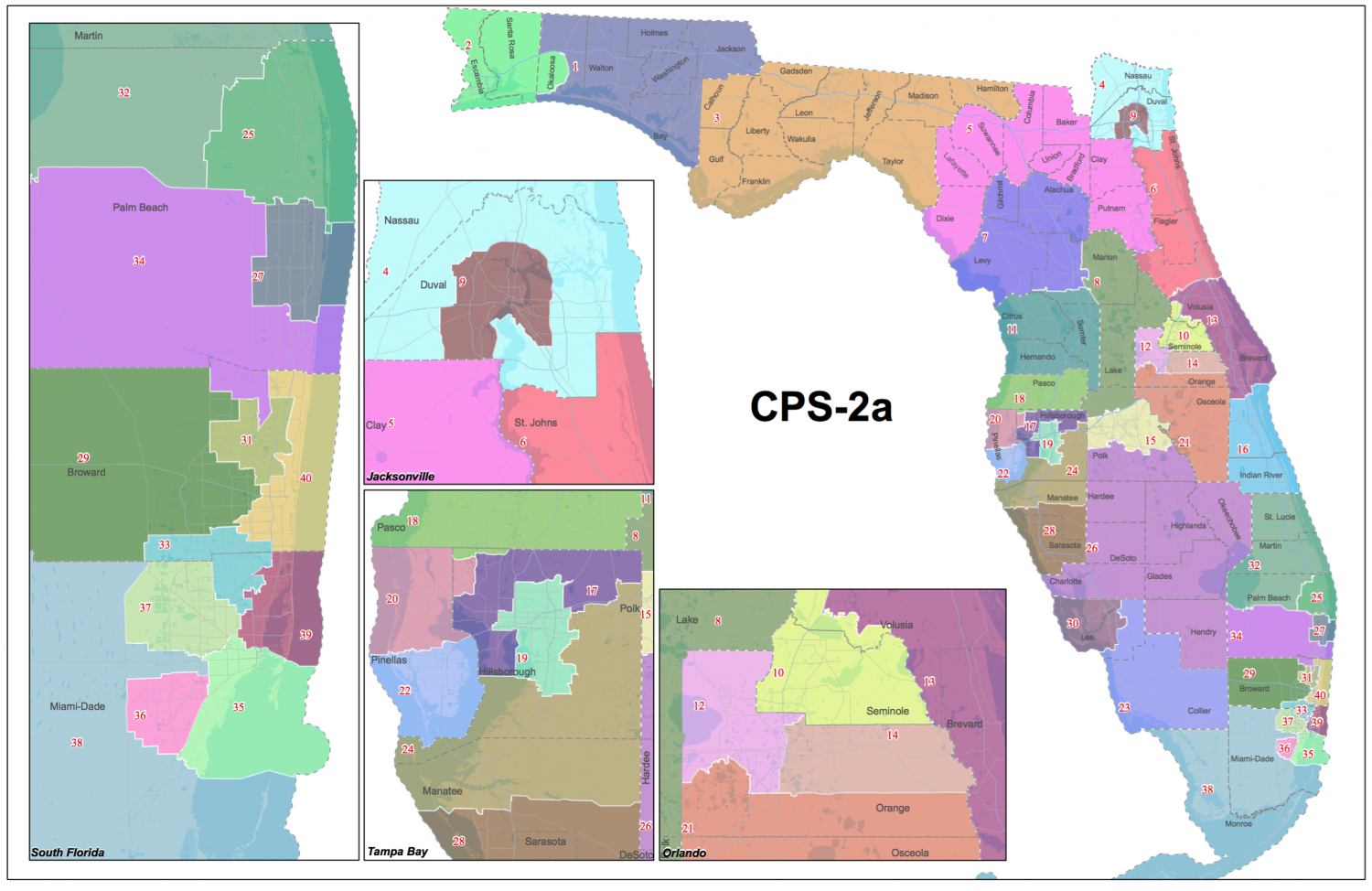 floridas congressional districts approved - HD1500×974