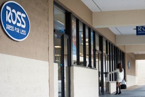 A woman enters the Ross Dress for Less on Southwest Archer Road on Tuesday. (Cresonia Hsieh/WUFT)