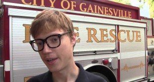 Gainesville Fire and Rescue may be responding to 911 calls more quickly once system alert upgrades approved by the Gainesville City Commission are in place. (Photo by WUFT News).