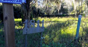 This is the site of The Arc of Alachua County's future group home for people with Prader-Willi Syndrome, a genetic disorder that causes a person to eat uncontrollably. Officials recently broke ground for the facility, which is slated to open between August and October of this year. (Alexandra Go/WUFT News)