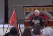 Principal Chief of the Cherokee Nation Bill John Baker presents the State of the Cherokee Nation address. (Sara Girard/WUFT News)