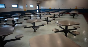 This dining hall in one of Florida's correctional facilities is where prisoners eat meals from the 4 week master plan. DOC says the prisoners love the fried chicken, according to a food survey that was taken by inmates. Credit: Florida Department of Corrections