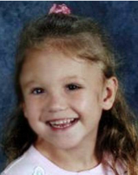 Photo courtesy of the National Center for Missing and Exploited Children HaLeigh Cummings at the age of 5. She was reported missing on Feb. 10, 2009.