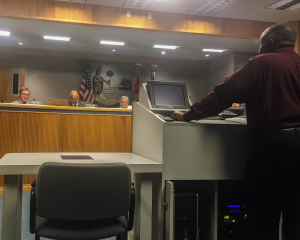 Vernest LeGree of the Alachua County Public Works Parks Department spoke to Alachua County Commissioners Tuesday, recommending amendments be made to the County's fairgrounds rental application.