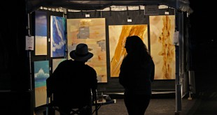 The Winter Fine Arts Fair is the only night time art fair in the region, and it showcases work of talented artists from Gainesville and nearby towns.