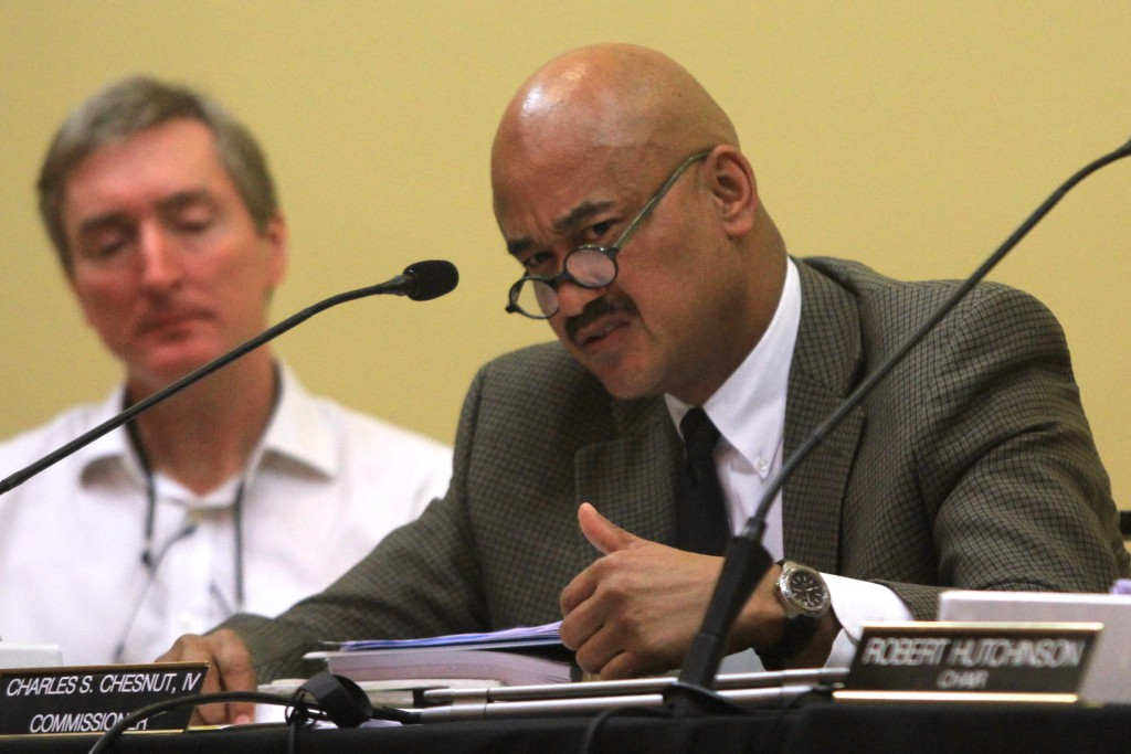 """""""This is a serious issue to me,"""" Chestnut said. (Photos by Ethan Magoc/WUFT News)"""