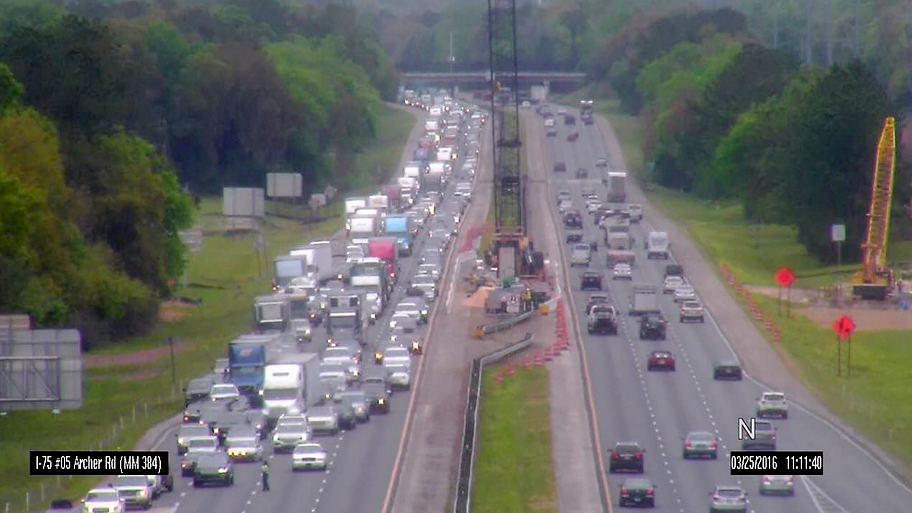 Two I-75 Southbound Lanes Are Open Following Multiple Accidents