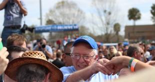 Bernie Sanders's presidential campaign rally