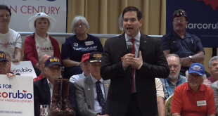 Senator Marco Rubio speaks during a rally in March 2016. (File photo)