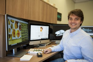 Ed Stanley, postdoc in David Blackburn's lab (Herpetology)