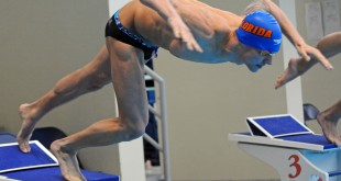 Caeleb Dressel, a UF sophomore and Olympic hopeful, has already set two American and World swimming records at the age of 19. (Jordan McPherson/WUFT News)