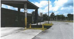 A photo featured in a letter to Mayor Braddy from the Alachua County Comission of the former RTS Administration and Operations Center. (Photo courtesy of the city of Gainesville)