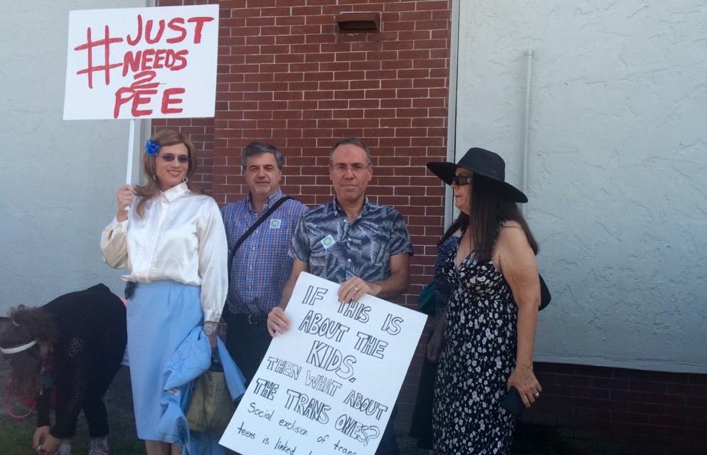 Marion County transgender protest