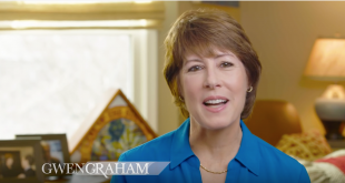 Screenshot from Gwen Graham Future youtube video.