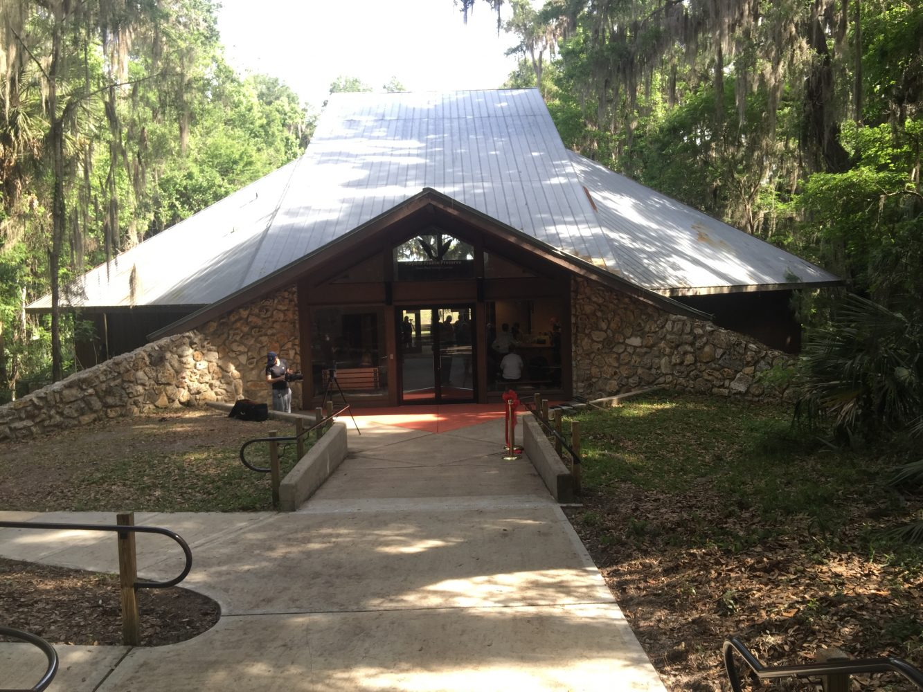 The Paynes Prairie visitor's center was closed in September 2015 for renovations. Chloe Equizi/WUFT News