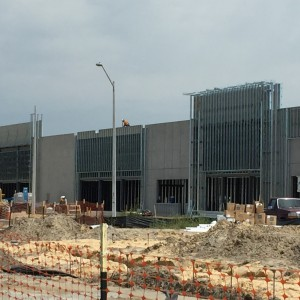 Construction continues at Butler Plaza North. (Taylor Slater/WUFT News)