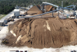 File photo: A pile of biomass fuel awaits conversion into electricity at the Gainesville Renewable Energy Center. (Courtesy of Bill Gaston/Wood Resource Recovery)