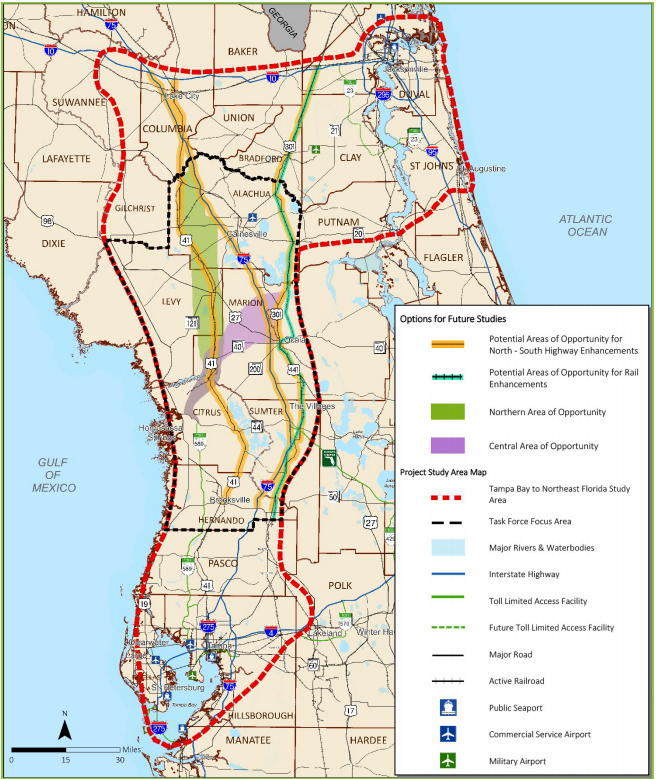 Mtpo Tells I 75 Task Force No New Highway In Alachua County Wuft News
