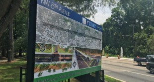 The plans for Northwest 8th Avenue changed to three automobile lanes and two bike lanes after a commission meeting Thursday night. Construction on the road is in progress and will not be delayed, according to Gainesville Mayor Lauren Poe.