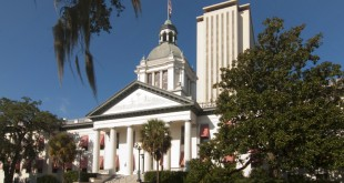 The Florida Capitol building in Tallahassee. (Stephen Nakatani/Creative Commons)