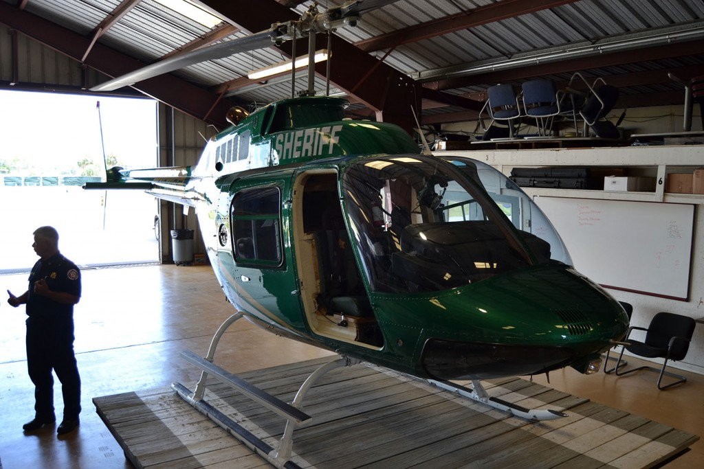 Bambi Bucket In Tow, Marion County's New Helicopter Can Help