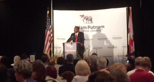 Florida neurosurgeon Ben Carson speaks at a breakfast hosted by Florida Agriculture Commissioner Adam Putnam at the RNC in Cleveland Tuesday, July 19, 2016. (Caitie Switalski/WUFT News)