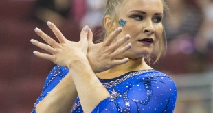 Bridget Sloan 2016 Gator Gymnastics University of Florida 2016 Southeastern Conference Championships (3-19-16) - Florida 197.775; Alabama 197.75; LSU 197.50; Auburn 196.975; Georgia 196.85; Arkansas 196.50; Kentucky 196.25; Missouri 195.75
