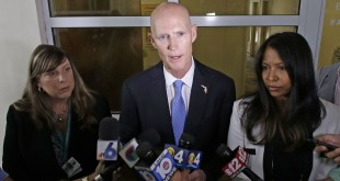 Gov. Rick Scott in July 2016. On Thursday, Scott received support from the Florida Chamber of Commerce on his proposed $85 million incentive program. (AP file photo)