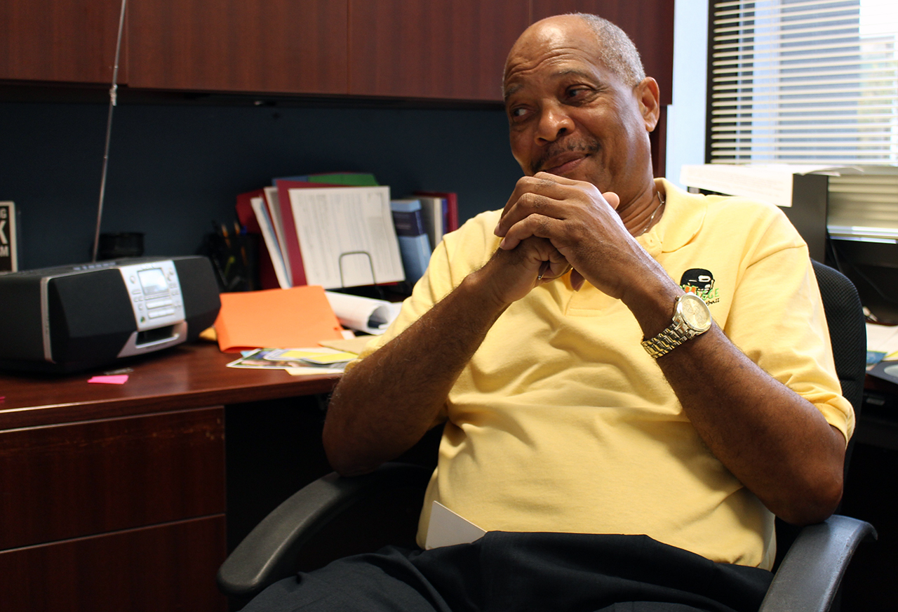 District 1 City Commissioner Charles Goston, 65, said there is a greet need for medical services for his constituents in East Gainesville. (Briana Erickson/WUFT News)