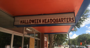 "The overhead sign for the Simply Halloween Store replaces that of the University of Florida Bookstore, which called 1614 W. University Ave. home since 1933, until this summer. ""We got lucky that it was open,"" said Michael Brooks, the district manager for Simply Unforgettable Party Shop. ""So we jumped on it as soon as we could."""