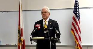 Ocala Mayor Kent Guinn discusses the sexual harassment allegations against Ocala Chief of Police, Greg Graham, on Monday, September 19, 2016 in Ocala, Fla.