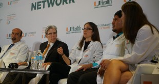 Thursday's panel of experts discussed a range of Zika topics, including the challenges of testing for the virus. (Kyle Holsten / WLRN)