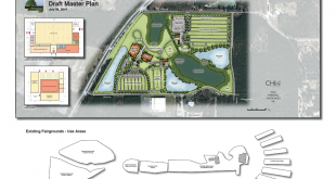 Alachua County Fairgrounds Site Map