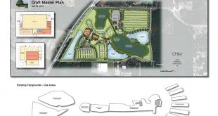 Alachua County Fairgrounds Site Map