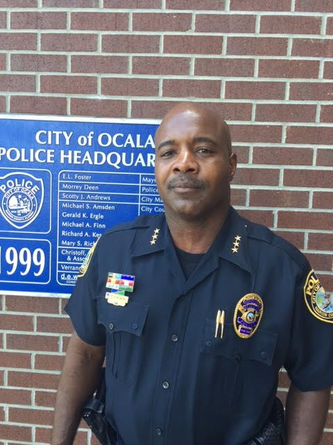 Deputy Chief Rodney Smith will serve as acting Police Chief of the Ocala Police Department for the duration of Graham's investigation. (Photo courtesy of Ocala Police Department)