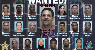 Pictured are names and mugshots for the 19 subjects wanted by drug agents with UDEST (Photo courtesy of Marion County Sheriff's Office).