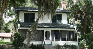 Marion County Parks and Recreation plans to have the Ocklawaha home famous for a 1935 shootout between a crime family and the FBI moved before the end of October. (Photo courtesy Jim Couillard)