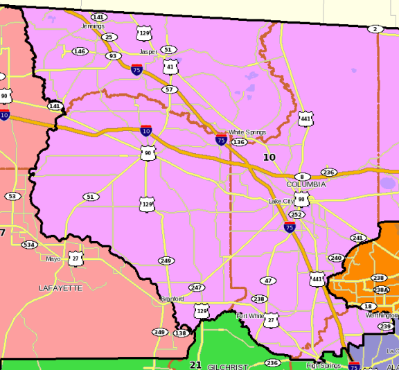 Florida state house District 10.