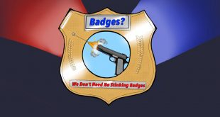 Badges? We Don't Need No Stinking Badges!