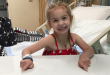 Four-year-old Kendall Lewis has battled VACTERL association since birth. The rare disorder is estimated only to appear in less than 2 per 10,000 live births. (Photo courtesy of Mindy Lewis)