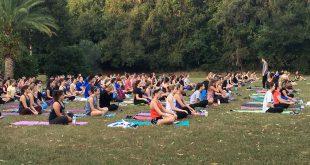 Abby Dougherty's yoga memorial